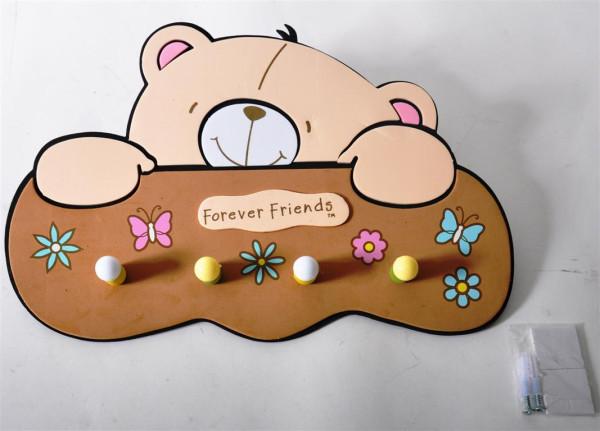 "Garderobe ""Forever Friends"" PBH ca. 33x21cm"