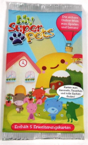 MySuperPets Booster-Packs DIS, ca.13x12x4 cm
