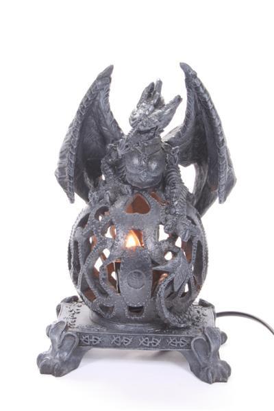 Drachen Lampe BB, H: ca. 25 cm