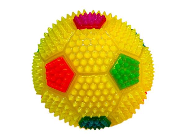 Fußball mit Licht farbl. s. DIS, ca. D: 6cm