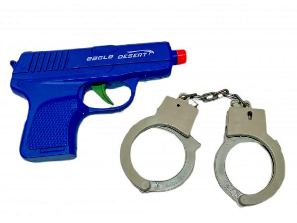 Polizei Set 2teilig farbl. sort. OPP ca. 16x9,5x2cm