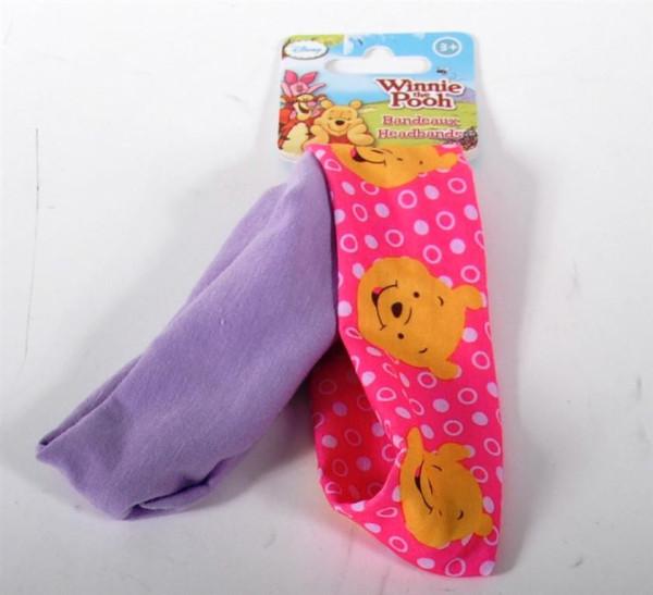 """2er Set Stirnband """"Winnie Pooh"""" AK ca. 22x6cm"""