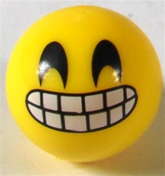 Emoticon Ball mit Licht sort. DIS ca. 5,5cm