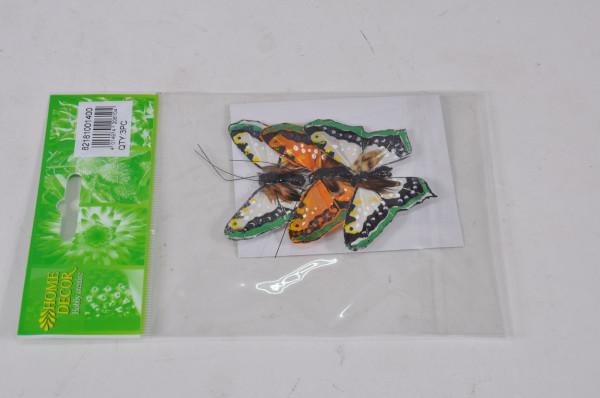 Schmetterling am Draht 3er Set ca. 8cm 82181001400
