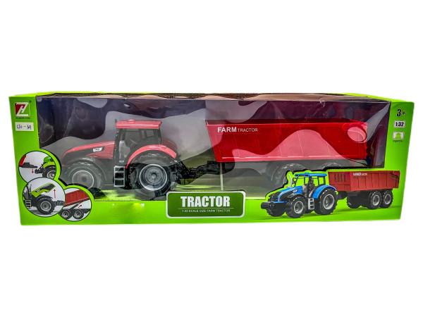 Traktor mit Anhänger WB ca.