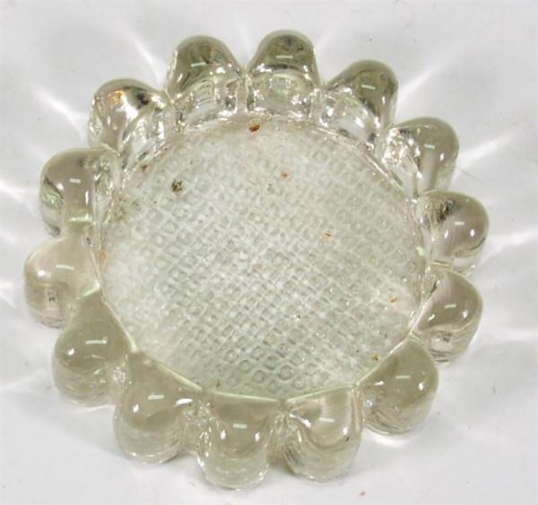Teelichthalter aus Glas D: ca. 7 cm
